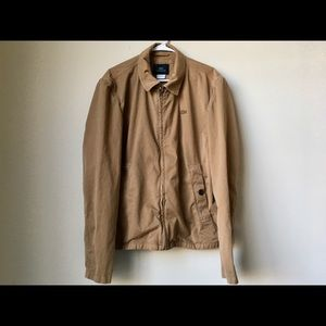 Lacoste Cotton Twill Jacket - Size XL
